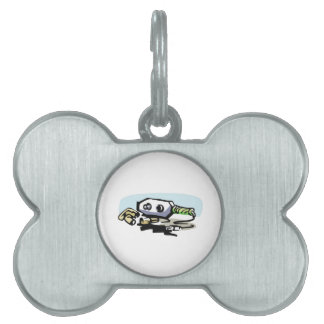 Electricians Logo Pet ID Tags