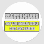 Electricians...Much Smarter Stickers