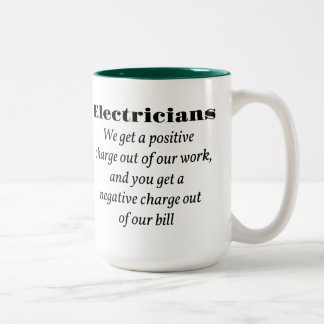 Electricians Two-Tone Coffee Mug