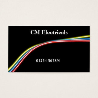 Electricians 'Wired' Business Card