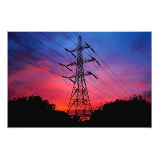 Electricidad en el aire esta noche fotografia
