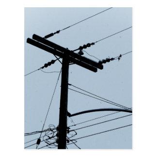 Electricidad Tarjeta Postal