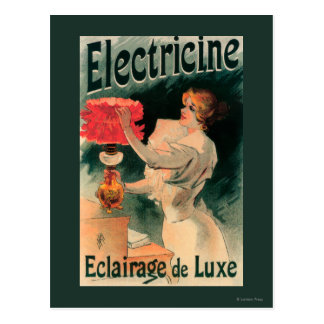 Electricine Promotional PosterFrance Postcard