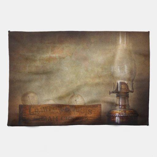Electricista - adelantos en la iluminación toallas de cocina