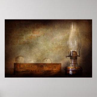 Electricista - adelantos en la iluminación póster