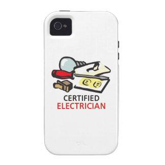 ELECTRICISTA CERTIFICADO Case-Mate iPhone 4 FUNDAS