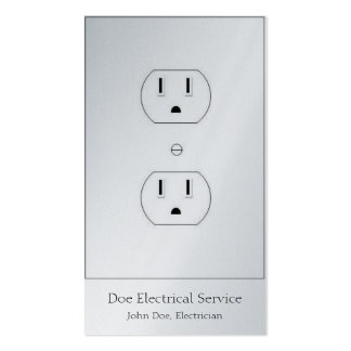 Electricista/contratista Tarjetas De Visita