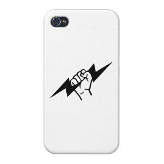 Electricista de destello iPhone 4 carcasa
