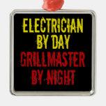 Electricista de Grillmaster Ornamento De Reyes Magos