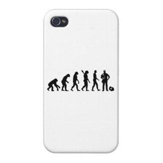 Electricista de la evolución iPhone 4 fundas