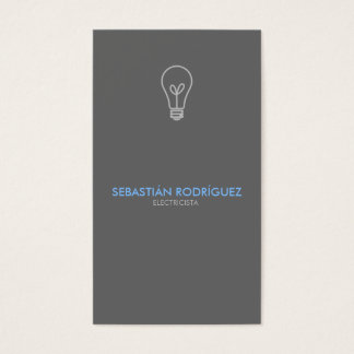 Electricista - Electrician Business Card