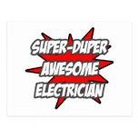 Electricista impresionante estupendo de Duper Postales