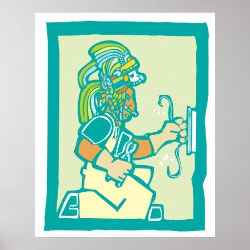 Electricista maya poster