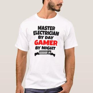Electricista principal por videojugador del día playera