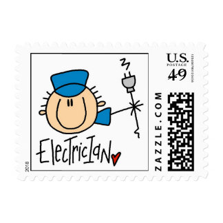 Electricista Timbres Postales