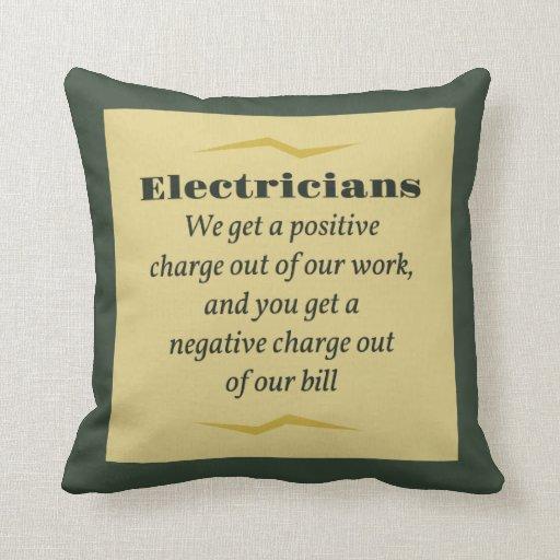Electricistas Cojines