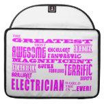 Electricistas de los chicas: Electricista más gran Funda Para Macbook Pro