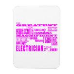 Electricistas de los chicas: Electricista más gran Iman Flexible