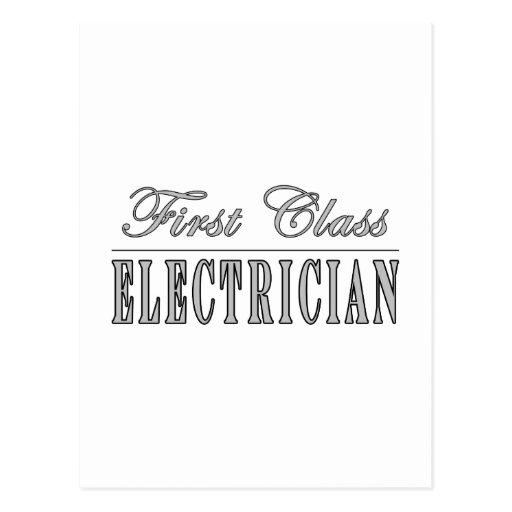 Electricistas elegantes de la diversión: postales