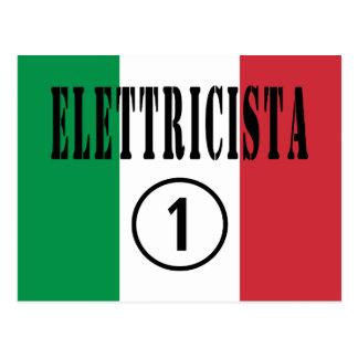 Electricistas italianos: Uno de Elettricista Postales