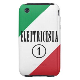 Electricistas italianos: Uno de Elettricista Tough iPhone 3 Coberturas
