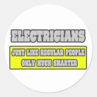 Electricistas… mucho más elegantes pegatinas