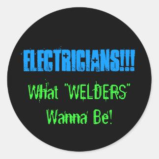 electricistas etiqueta
