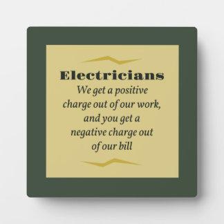 Electricistas Placa