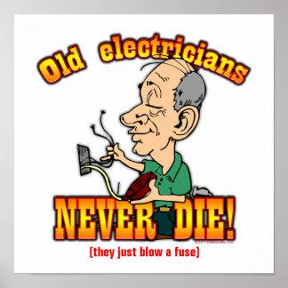 Electricistas Póster