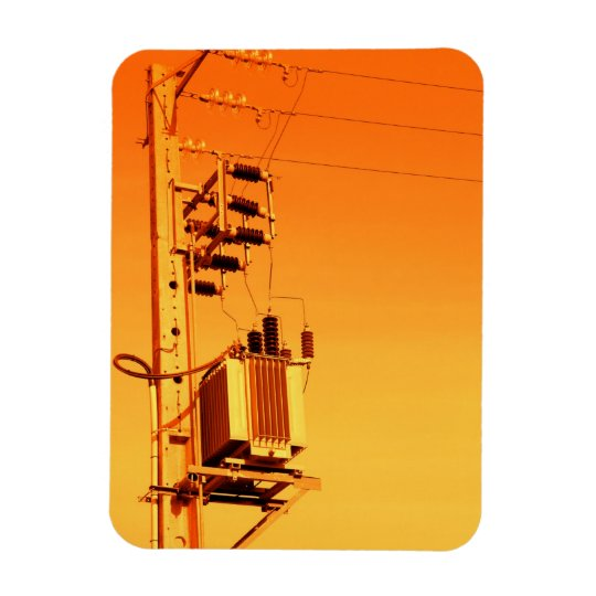 Electricity distribution equipment magnet