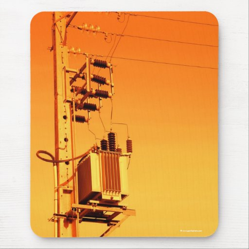 Electricity distribution equipment mouse pad