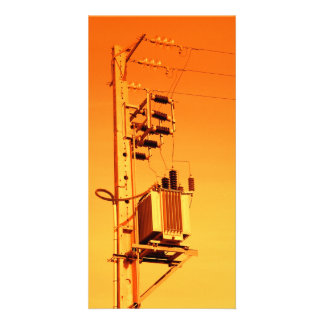 Electricity distribution equipment photo card