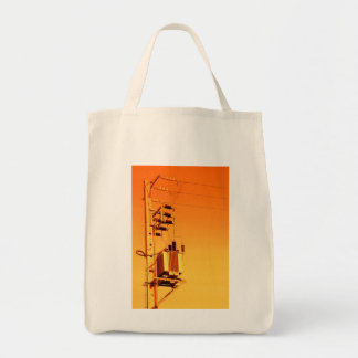 Electricity distribution equipment tote bag