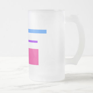 Electricity Frosted Glass Beer Mug