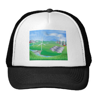 Electricity or power generation methods hat