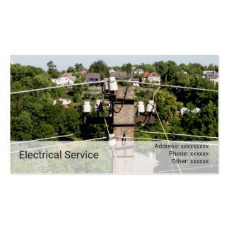 Electricity pole | business card