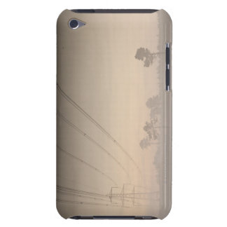 Electricity pylons and cables running barely there iPod cover