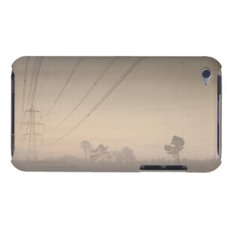 Electricity pylons and cables running iPod touch Case-Mate case