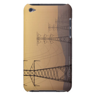 Electricity pylons iPod touch Case-Mate case