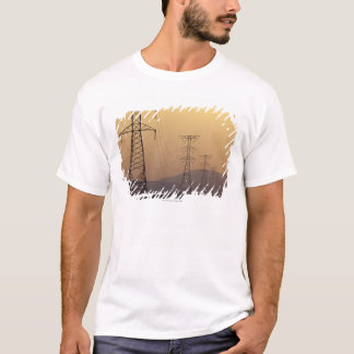 Electricity pylons T-Shirt