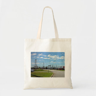 Electricity relay station canvas bag
