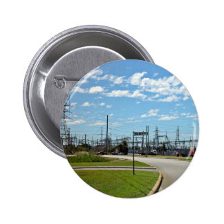 Electricity relay station 2 inch round button