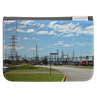 Electricity relay station kindle cover