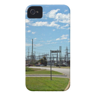 Electricity relay station iPhone 4 Case-Mate cases