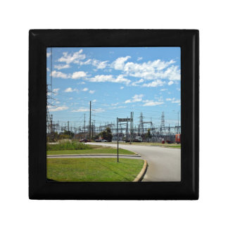 Electricity relay station gift box