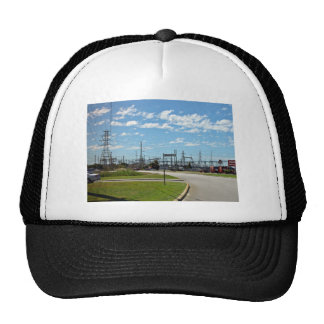 Electricity relay station trucker hat