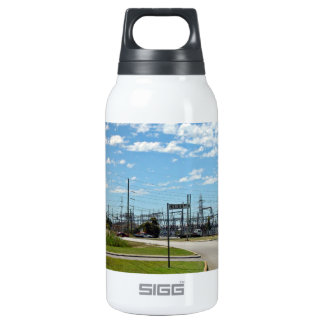 Electricity relay station insulated water bottle