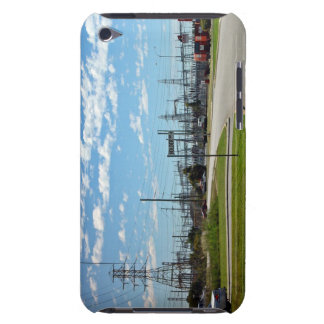 Electricity relay station iPod touch cover