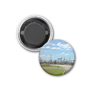 Electricity relay station fridge magnets