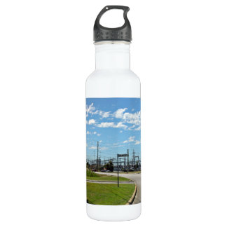 Electricity relay station 24oz water bottle
